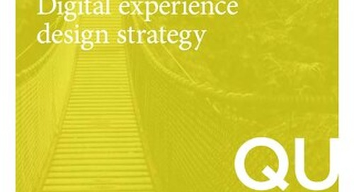 The Savvy Marketers Guide to Digital Experience Design Strategy