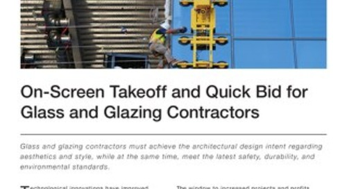 Estimating for Glass and Glazing