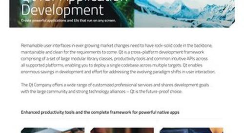 Datasheet: Application Development