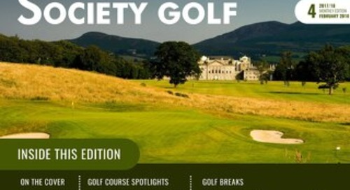 Society Golf 2017/18 Digital Magazine - Issue 4