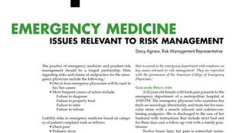 Reporter 2003 Emergency Medicine