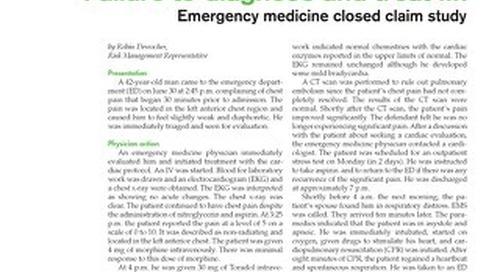 Reporter 2008 Emergency Medicine