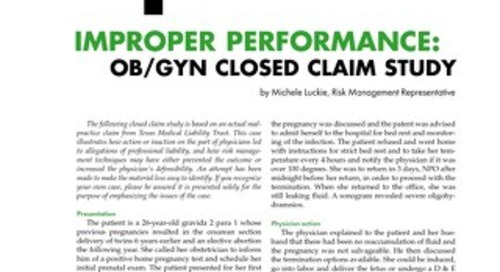 Reporter 2003 Obstetrics-Gynecology