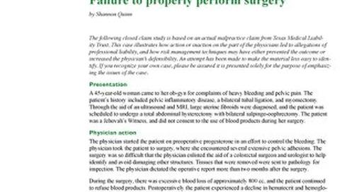 Reporter 2012 Obstetrics-Gynecology
