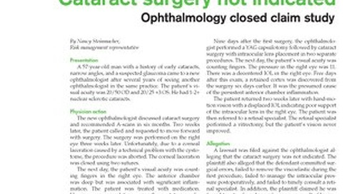 Reporter 2009 Ophthalmology