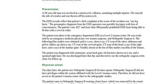 Reporter 2013 Orthopedics