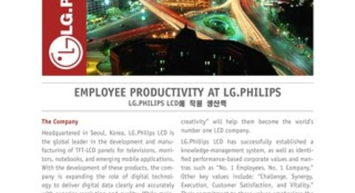 Employee Productivity at LG Philips