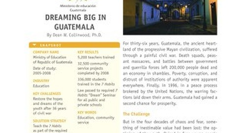 Dreaming Big in Guatemala