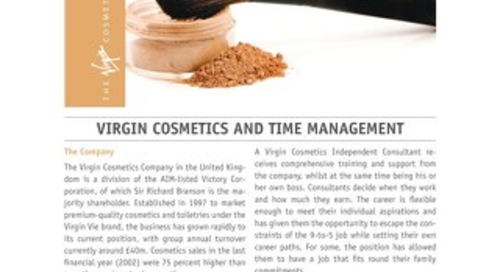 Virgin Cosmetics and Time Management