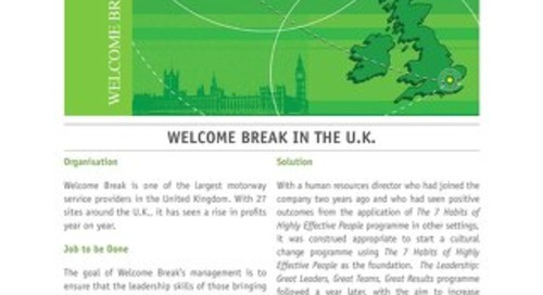 Welcome Break in the U.K.