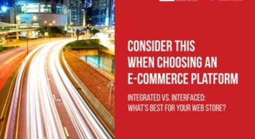 Consider this When Choosing an E-Commerce Platform