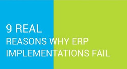 9 Real Reasons Why ERP Implementations Fail
