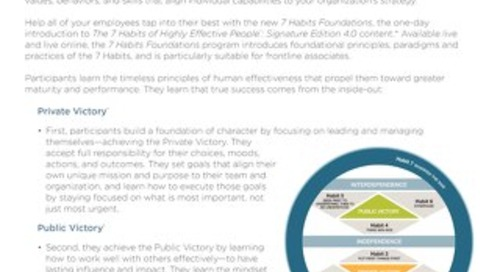 The 7 Habits Foundations