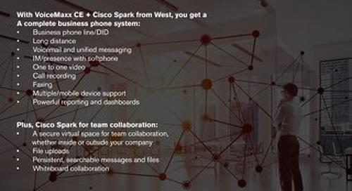 VoiceMaxx CE + Cisco Spark