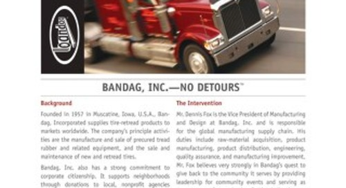 Bandag, Inc. - No Detours