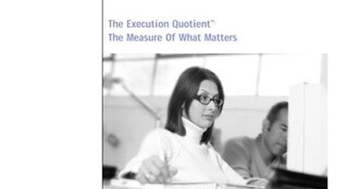 Execution Quotient