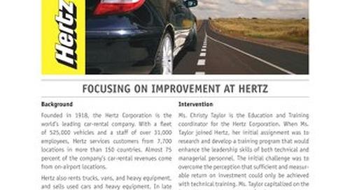 Focusing on Improvement at Hertz