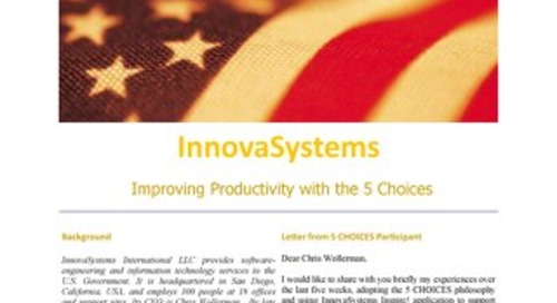 Innovasystems Improving Productivity