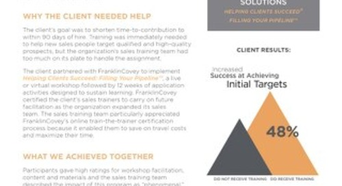 Case Study Environmental Services Co Increases Target Achievement