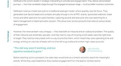 SilkRoad Case Study | Engagio