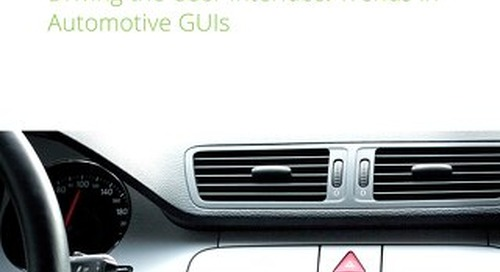 White paper: Driving the Automotive User Interface