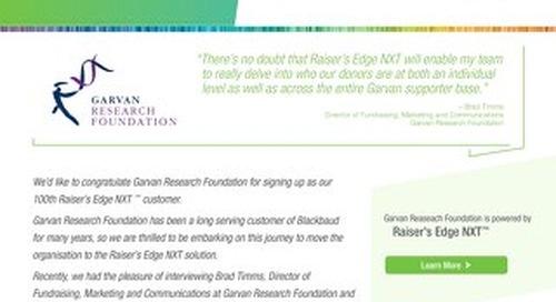 Garvan Research Foundation & NXT