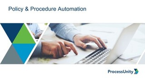 Slides from Your Policy & Procedure Management Demo