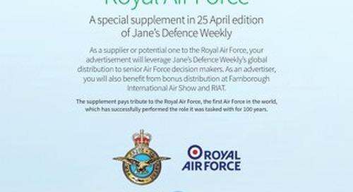RAF Special Supplement Flyer