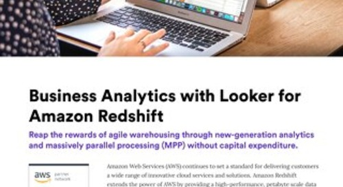 Looker & AWS Redshift Solution Brief