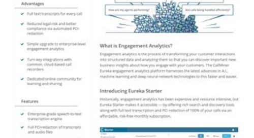 Eureka Starter datasheet