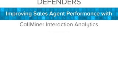 Defenders Improves Sales Agent Performance