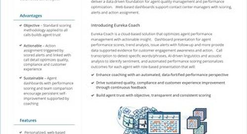Eureka Coach datasheet