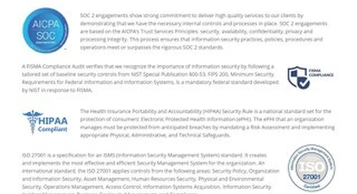 Eureka Security datasheet