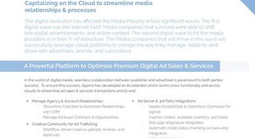 Appirio's Media Solutions Accelerators