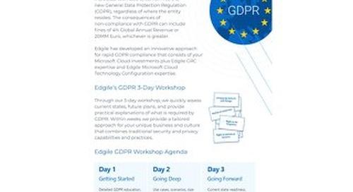 Jumpstart GDPR Compliance