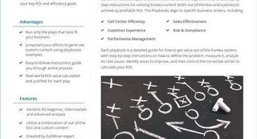 Eureka Playbooks datasheet