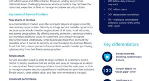Umbrella for Service Providers