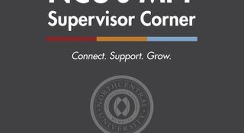 MFT Supervisor Corner_Issue2