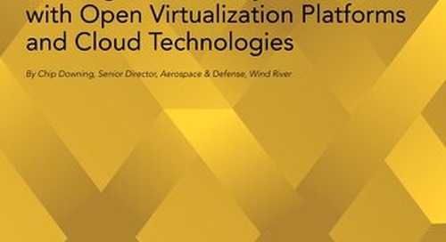 Building New Military Infrastructure with Open, Free, and Cloud Technologies