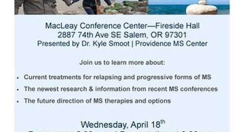 Join Us to Learn About MS Treatments
