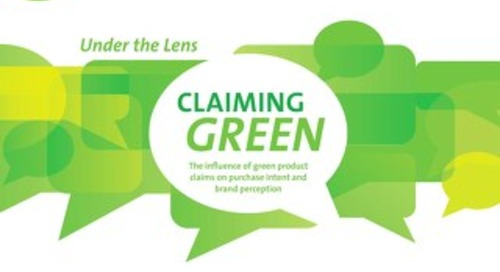 Under the lens: claiming green