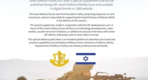 Israel Defence Forces Flyer