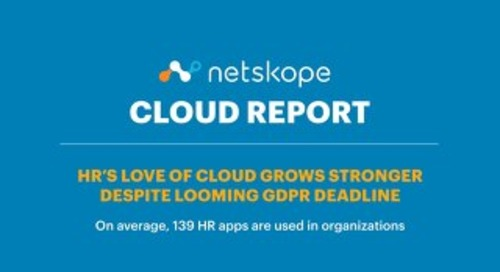 Netskope Cloud Report - February 2018