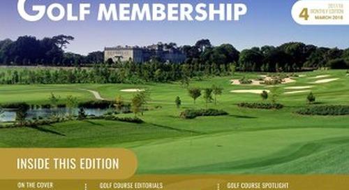 Golf Membership 2017-18 Digital Magazine - Issue 4
