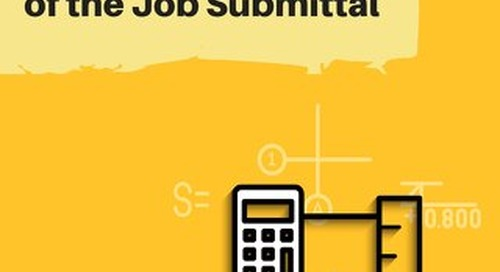 The Evolution of the Job Submittal