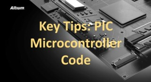 Key Tips PIC Microcontroller Code