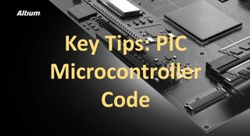 Key Tips PIC Microcontroller Code