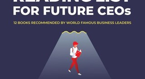 The Ultimate Reading List for Future CEOs