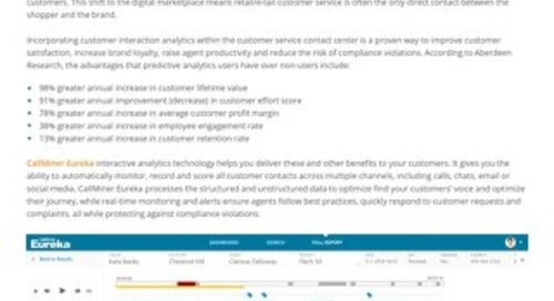 Customer Analytics Solutions for Retailers