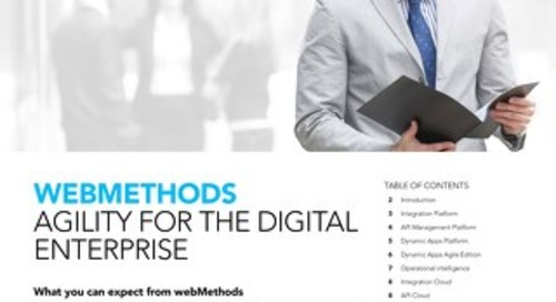 webMethods: Agility for the digital enterprise
